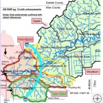 Upper Maumee Subwatersheds delineated