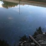 NIPSCO coal oil leak at Gas House