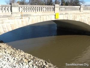 Fort Wayne, IN has 10.5 miles of levees