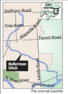 Bullerman Ditch reference