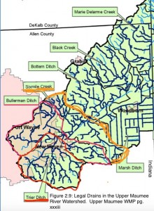 Trier Ditch, Bullerman Ditch, Sixmile Creek are all within the urban area we would like to address!