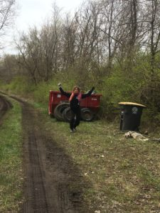 Victory for Day 1 of trash removal for Earth Days 2020