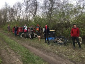 Earth Day Volunteers April 22, 2020 trash clean up only
